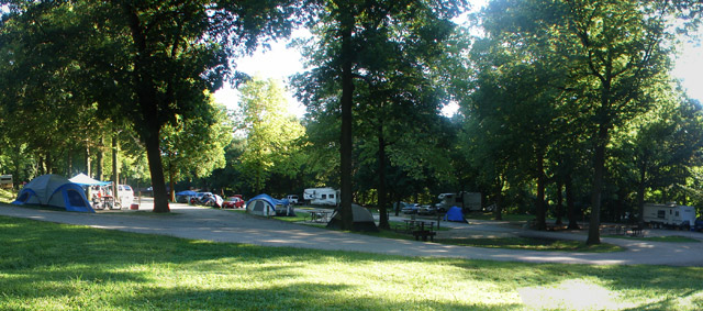 Dolliver Memorial State Park Campground
