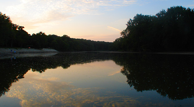 Des Moines River at Dolliver Memorial State Park