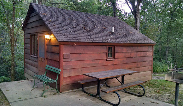 Lacey Keosauqua State Park - Cabin 1