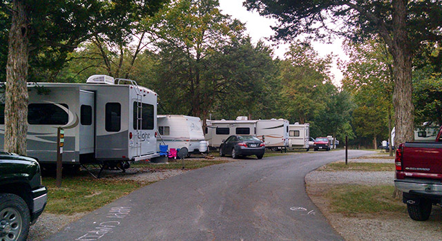 Lacey Keosauqua State Park - Campground