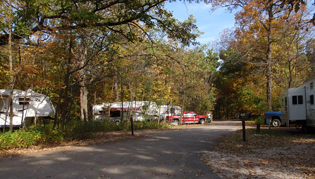 Ledges State Park Campground