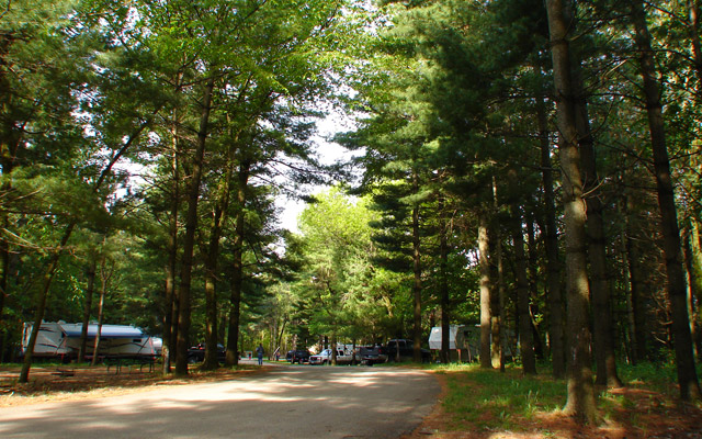 Maquoketa Caves State Park Campground