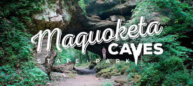 Maquoketa Caves State Park Logo