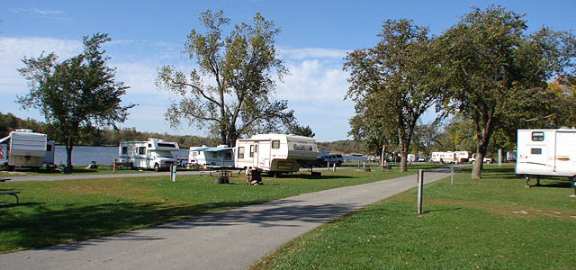 Rock Creek State Park Campground