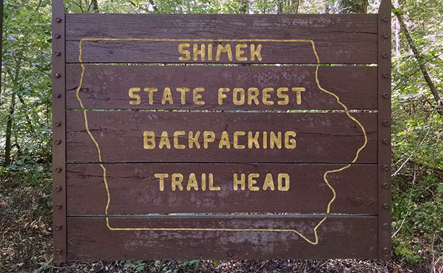 Shimek State Forest - Backpacking Trails
