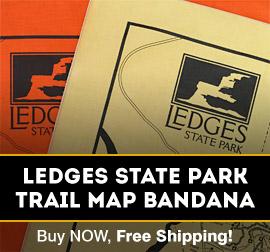 Ledges State Park Bandana