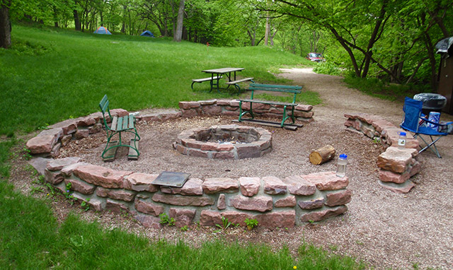 Stone State Park Fire Pit