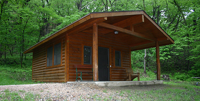 Stone State Park Cabin