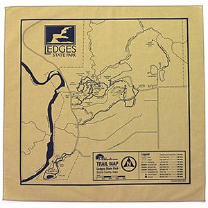 Ledges State Park Trail Map