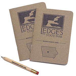 Ledges State Park Pocket Notebook