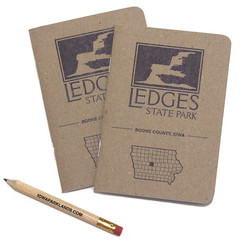 Ledges State Park Pocket Notebook