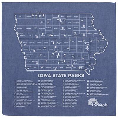 Iowa State Parks Bandanna