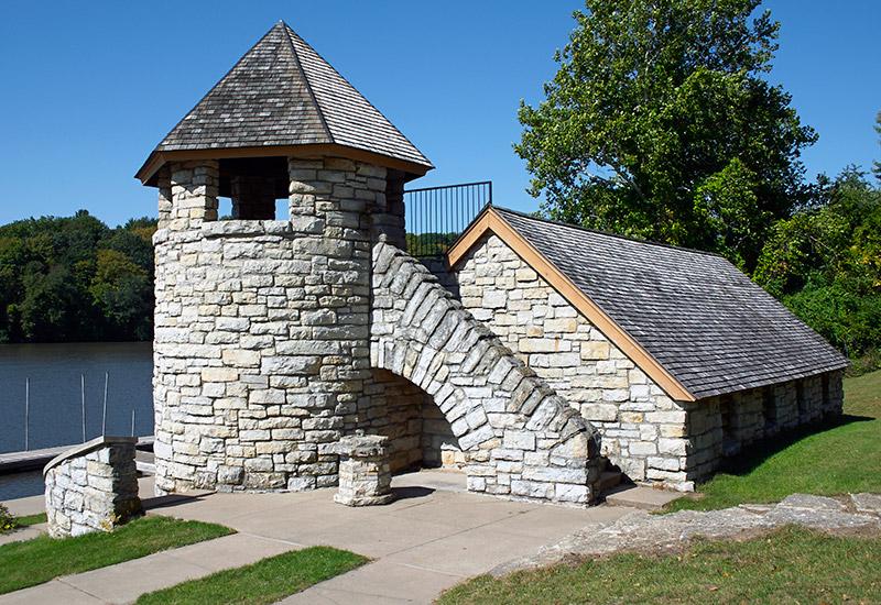 Backbone State Park - Boathouse