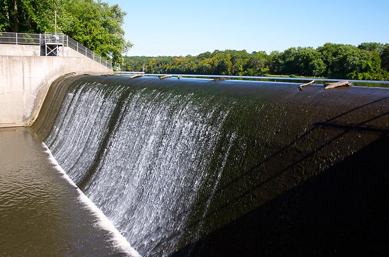Backbone State Park - Dam