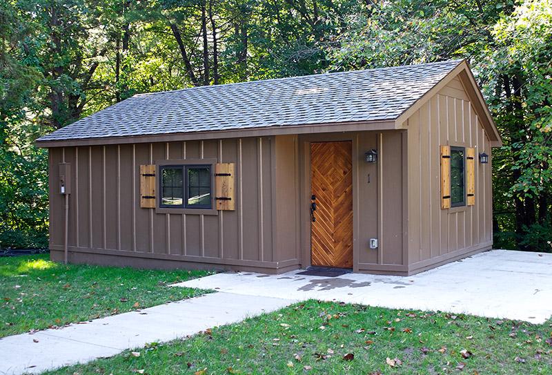 Backbone State Park - Cabin