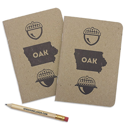 Oak Pocket Notebooks