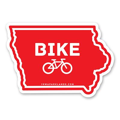 Iowa State Bike Sticker
