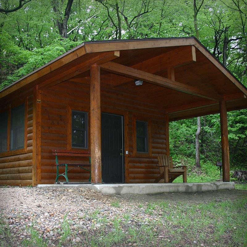 Stone State Park Cabin