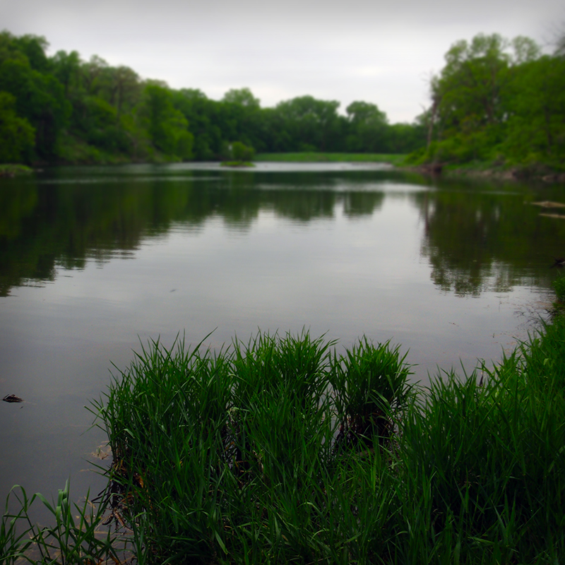 Turtle Lake at Stone State Park